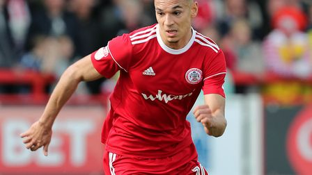 Ipswich Town have signed striker Kayden Jackson from Accrington Stanley for �1.6m. Photo: PA