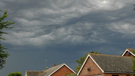 There is a chance of heavy thunderstorms today but it's still very hot Picture: ALAN BALDRY