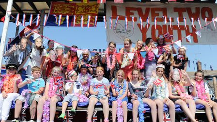 The colourul Felixstowe Carnival procession is a highlight of the year Picture: LUCY TAYLOR