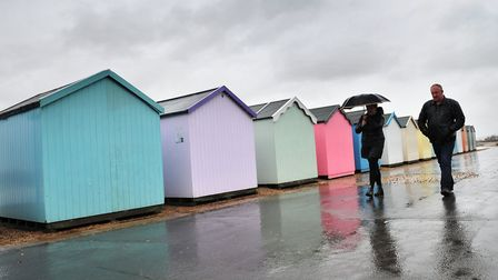Forecasters believe rain will hit the region today Picture: SARAH LUCY BROWN