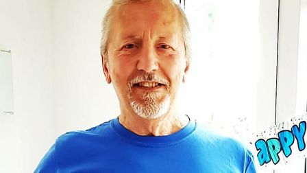 Clive Wyard remains in hospital Picture: SUPPLIED BY FAMILY