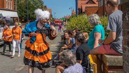 The rain held off for the 2018 Felixstowe Carnival Parade on Saturday 28 July. The Pantomime theme