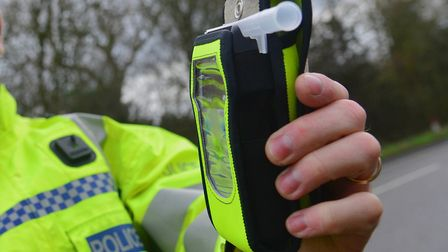 July was revealed to be the worst month for drink-driving in Suffolk last year Picture: SIMON PARKE