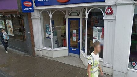 Six of the boxes were stolen from Swinton Insurance on Head Street Picture: GOOGLE MAPS
