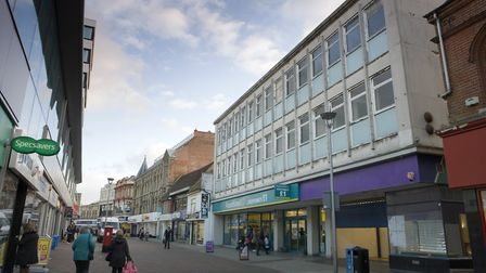 26 Carr Street, Ipswich - next to Poundland - has been let to Age UK Suffolk for its new Home Store