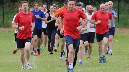 Taking part in parkrun each week can make you happier. Picture: GREAT CORNARD PARKRUN FACEBOOK