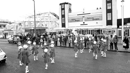 The outside of Mannings amusements Picture: OWEN HINES