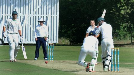 Craig Estlea, who scored 66 for Worlington in their key victory over his former club, Woolpit. Pictu