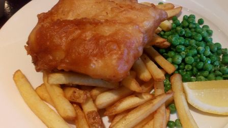 Cod and chips Picture: Archant