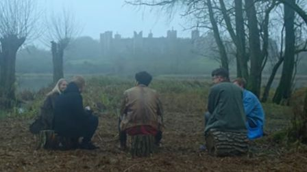 Ed Sheeran's Castle on the Hill music video Picture: ED SHEERAN