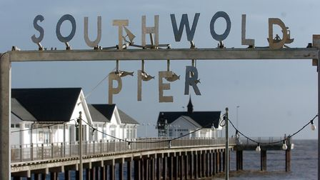 Southwold pier. Picture: CLIFFORD HICKS