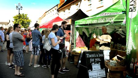 Bury St Edmunds Food and Drink Festival. Picture: ANDY ABBOTT