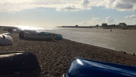 Looking toward the Martello Towers at Felixstowe Picture: SUE FOSTER/ CITIZENSIDE