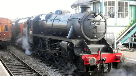 Stanier Black Five locomotives - identical to that scrapped in a field in 1968 - have visited steam
