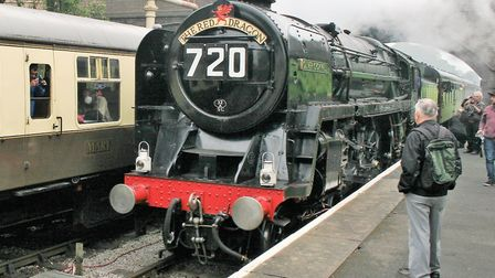 Oliver Cromwell has spent 2018 touring preserved railways in England - including the Gloucestershire