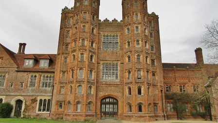 Layer Marney Towers Picture: PETER BASH