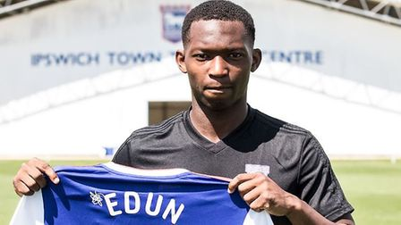 Tayo Edun has joined Ipswich Town on a season-long loan from Fulham. Picture: ITFC