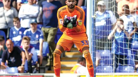 Bartosz Bialkowski signed a new deal in the summer. Picture: STEVE WALLER