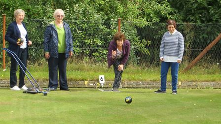 Bowls has been seen as a popular sport to help [people keep active and reduce loneliness File pictur