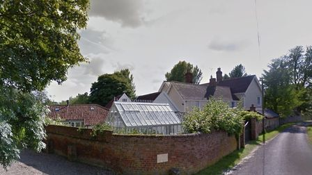 Wixoe Mill and Mill House, which has been damaged by fire Picture: GOOGLE