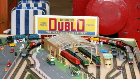 The event also featured model train displays Picture: PAUL GEATER