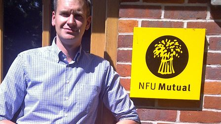 James Batchelor-Wylam of NFU Mutual in Suffolk said farmers were having to fortify their land to pro