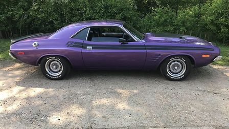 Do you recognise this 1973 Dodge Challenger? It was stolen from a layby in Bulmer Picture: ESSEX POL