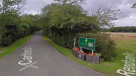 The group of travellers are expected to leave the site this morning Picture: GOOGLEMAPS