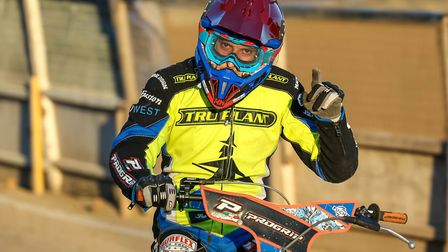 Nico Covatti was in fine form for the Ipswich Witches in their draw at the Peterborough Panthers. Pi