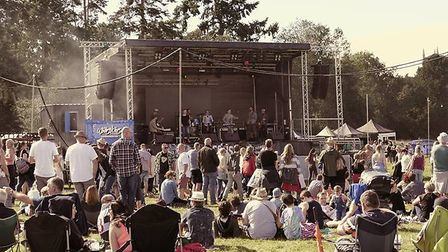 The Whitenoise festval at Euston Park is set to attract a record breaking 10,000 this year, accordin