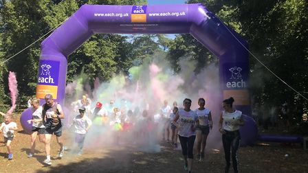 The event was held at Nowton Park in Bury St Edmunds Picture: EACH