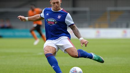 Martyn Waghorn is set to join Derby County for �5m a year after joining Ipswich Town for �250k. Phot