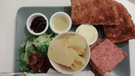 Pate lunch Picture: Archant