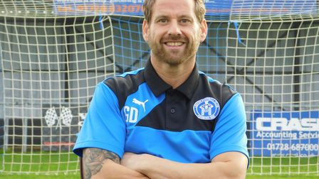 Leiston boss Glen Driver leads his team into a new era against Coalville Town this weekend. Picture: