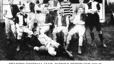 The team in 1887 Picture: SUPPLIED BY JOHN NUNN