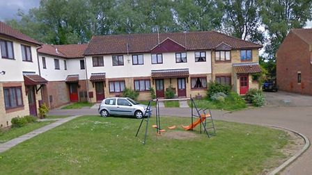 The incident is alleged to have taken place in Reeve's Close, Bungay Picture: GOOGLE