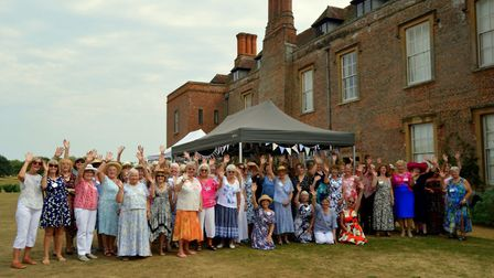 Long Melford Women's Institute celebrated its 100th birthday with a garden party at Melford Hall on