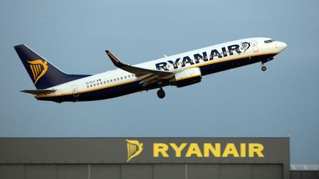 A Ryanair jet taking off from Stansted Airport Picture: CHRIS RADBURN/PA WIRE