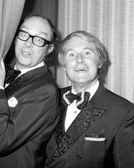 Morecambe and Wise: Picture: BBC/PA