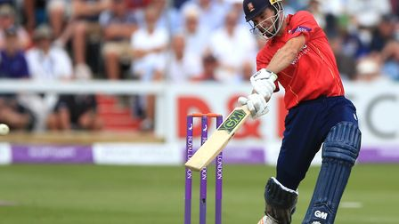 Ryan ten Doeschate was run out before Essex's clash with Hampshire was called off. Picture: PA SPORT