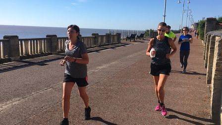 Runners enjoy the sunshine and the flat course at last Saturday's Lowestoft parkrun. Picture: CARL M