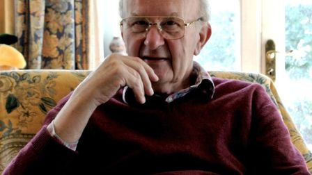 Author John Rogers, who has died aged 81 Picture: SUPPLIED BY FAMILY