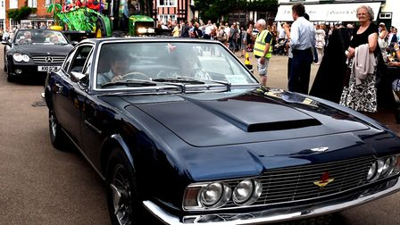 The motor show was previously part of the Lavenham Carnival, which was held for the last time in 201