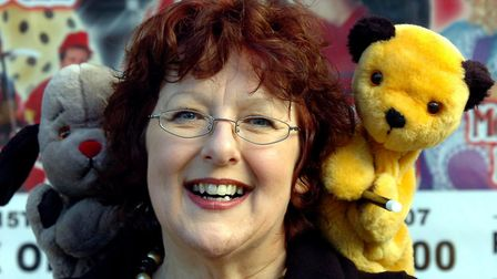 SPOT THE PUPPET: Lynne Mortimer interviews Sooty and Sweep about their roles in Snow White and the S
