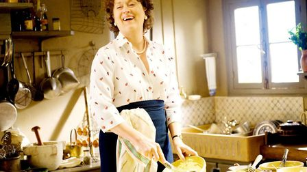 Meryl Streep as Julia Childs in the culinary classic Julie and Julia Photo: Sony