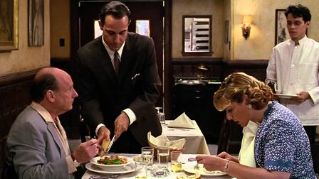 Stanley Tucci disocvers that life in the restaurant trade can get off to a slow start in the America