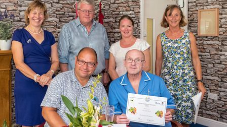 Cornwallis Court were overall winners in the Senior Green Fingers competition Picture: CAROL STREET