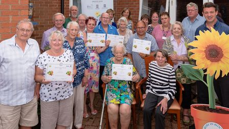 A celebration event was held at St Peter's care home in Bury St Edmunds Picture: CAROL STREET
