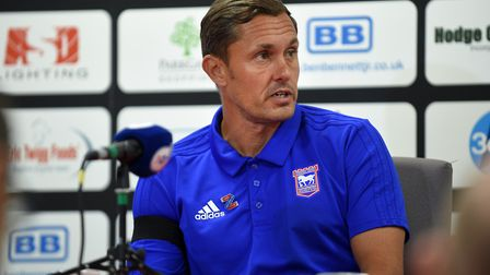 Ipswich Town are still searching for the first win under new manager Paul Hurst. Photo: Pagepix