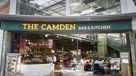 Stansted Airport's new restaurant The Camden. Picture: SSP